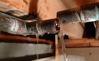 slab leak