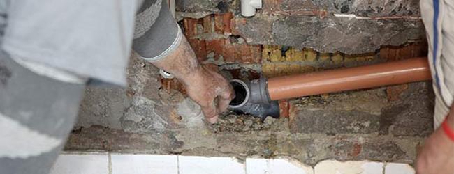 slab leak repair below slab